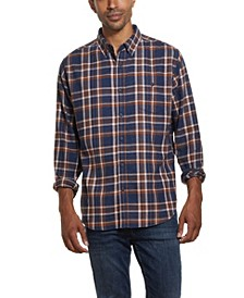 Men's Antique Plaid Flannel Shirt