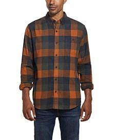 Men's Antique Plaid Flannel Shirt