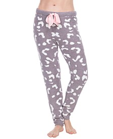 Super-Soft Chenille Loungewear Jogger Pants
