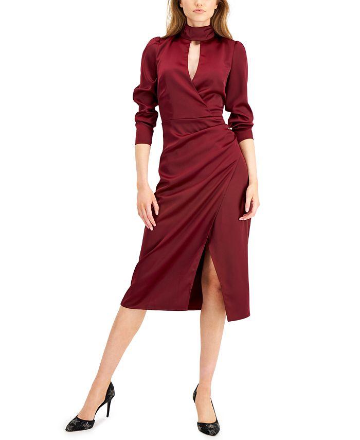 GUESS - Maddie Keyhole Wrap Dress