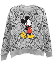Printed Mickey Mouse Graphic Sweatshirt