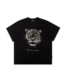 Men's Blood and Sweat Tiger Graphic T-shirt
