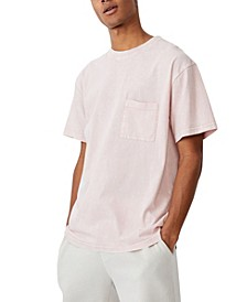 Men's Washed Pocket T-Shirt