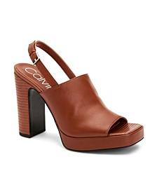 Women's Dottie Platform Slingbacks Sandal