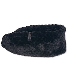 Textured Faux Sherpa Headband