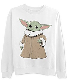 Printed Baby Yoda Graphic Sweatshirt