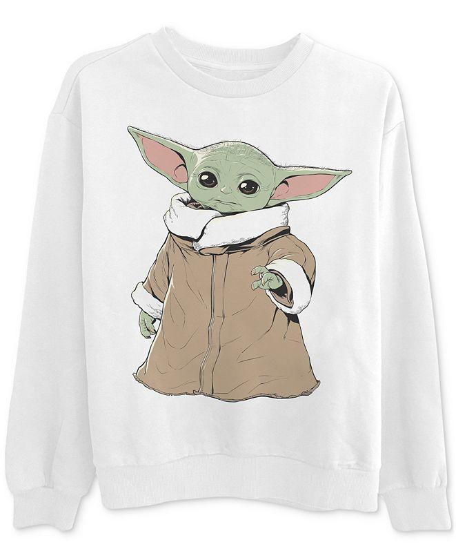 Disney Printed Baby Yoda Graphic Sweatshirt