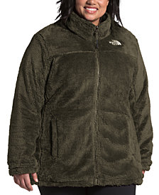 The North Face Women's Plus Size Mossbud Reversible Fleece Jacket