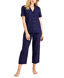 Short-Sleeve Pajamas Set, Created for Macy's