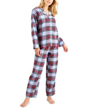 Matching Women's Tartan Family Pajama Set
