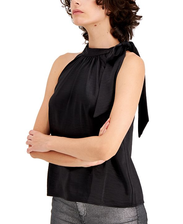 INC International Concepts INC Satin Bow Top, Created for Macy's