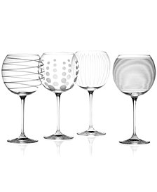 "Mikasa ""Clear Cheers"" Balloon Goblets, Set Of 4"