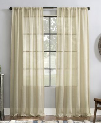 "Slub Textured Curtain, 52"" x 95"""