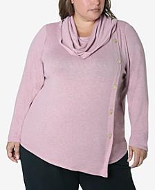Women's Plus Size Cozy Knit Top