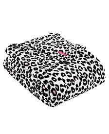 Betsey's Leopard Ultra Soft Plush King Blanket