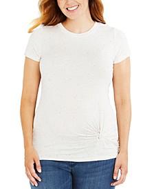 Twist-Front T-Shirt