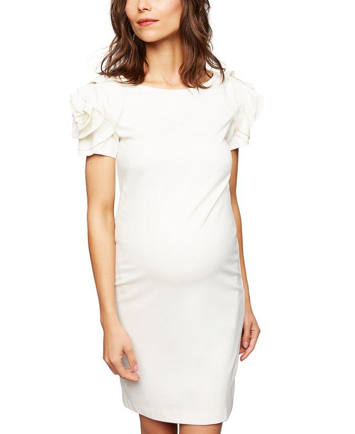 Pietro Brunelli - Maternity Ruffled Shift Dress