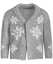 Baby Boy Snowflake Sweater, Created for Macy's
