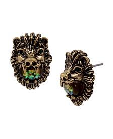 Lion Stud Earrings
