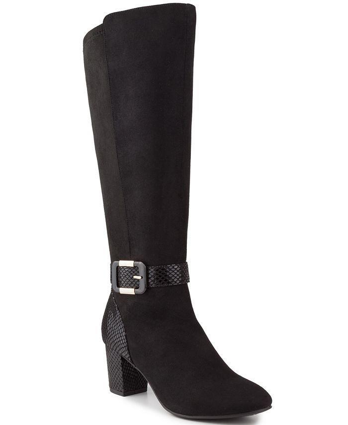 Karen Scott - Isabell Wide-Calf Dress Boots