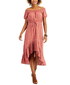 High-Low Peasant Dress, Created for Macy's