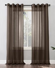 "Emily Grommet Curtain Panel, 59"" x 95"""