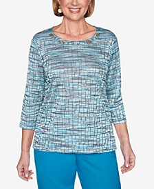 Women's Plus Size Colorado Springs Space Dye Top