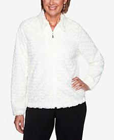 Women's Plus Size Classics Faux Fur Jacket