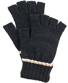 Ribbed Tipped Fingerless Gloves, Created for Macy's