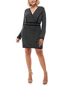 Trendy Plus Size Studded Dress