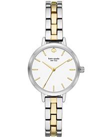 Women's Metro Two-Tone Stainless Steel Bracelet Watch 30mm