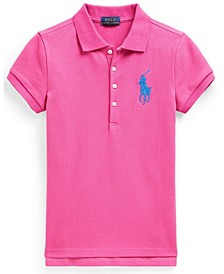 폴로 랄프로렌 걸즈 폴로셔츠 Polo Ralph Lauren Big Girl Big Pony Stretch Mesh Polo