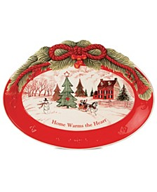 Home Warms The Heart Sentiment Tray