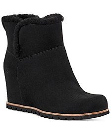 Seyline Hidden-Wedge Booties