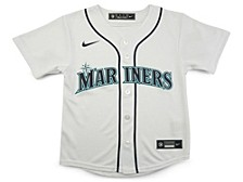 Seattle Mariners Kids Official Blank Jersey