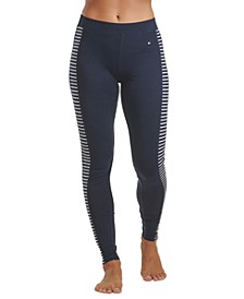 Contrast Stripe Loungewear Leggings