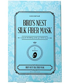 Bird's Nest Silk Fiber Mask, Pack of 5