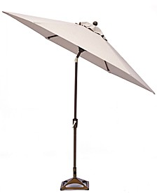 Kathan Outdoor 9' Auto-Tilt  Umbrella with Sunbrella®  Fabric, Created for Macy's