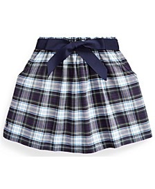 Calvin Klein Toddler Girl Tartan Plaid Oxford Skirt