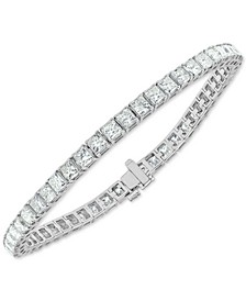 Diamond Princess Tennis Bracelet (9 ct. t.w.) in 14k White Gold