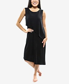 Sleeveless Asymmetrical Hem Dress