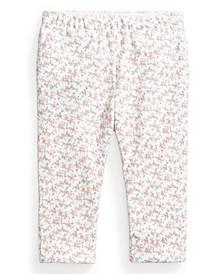 Ralph Lauren Baby Girls Floral Reversible Legging