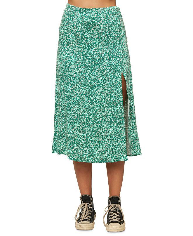 O'Neill Juniors' Tribiani Printed Midi Skirt