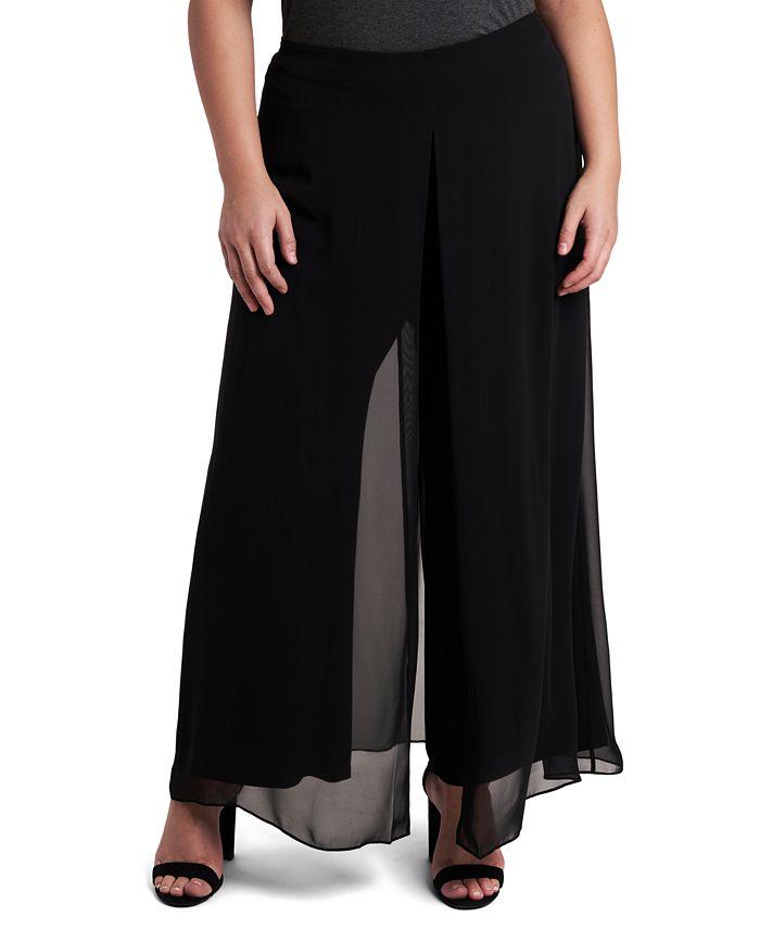 MSK - Plus Size Walk-Through Pants