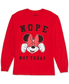 Trendy Plus Size Minnie Mouse Not Today Top