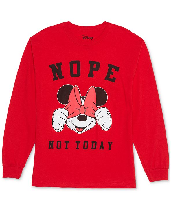 Love Tribe Trendy Plus Size Minnie Mouse Not Today Top
