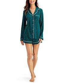 Ultra-Soft Shirt & Shorts Pajama Set, Created for Macy's