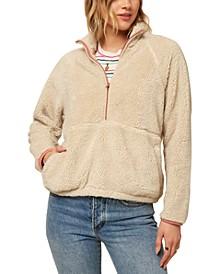 Juniors' Wallace Fleece Pullover Jacket