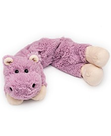 Microwavable Scented Hippo Plush Wrap