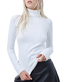 Baby-Soft Turtleneck Sweater